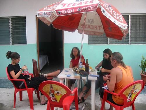 Nogmaals aperitieftime, nu in Flores