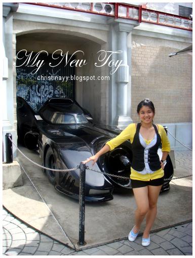 Warner Bros. Movie World: Batman's Car