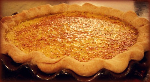 Buttermilk Pie!