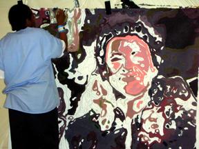 23-RCF Mural Portrait Painting