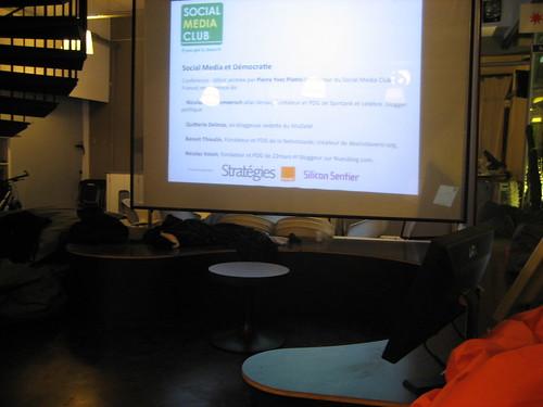 Social Media et Démocratie, une conférence publique du Social Media Club 2