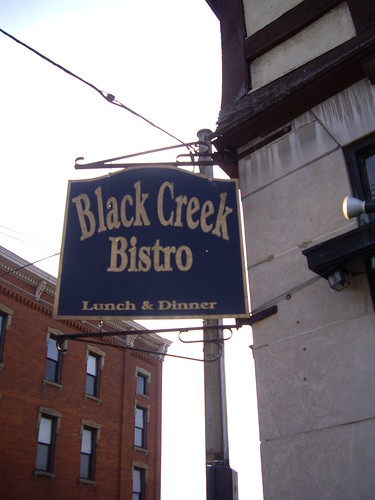Black Creek Bistro Sign