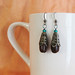 Fair Trade Coffee Bean Earrings