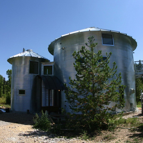 Monte Silo Modern Architecture House Design