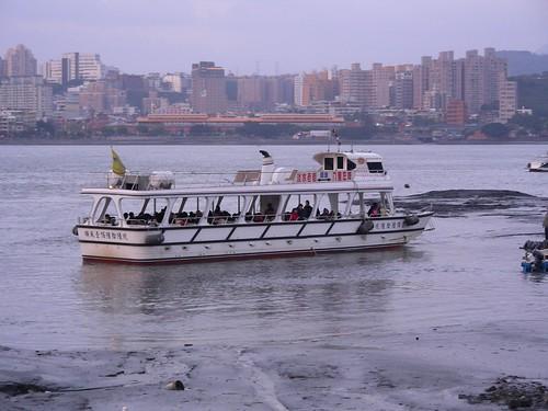 淡水-八里的接駁船