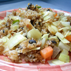 Black Bean Fried Rice