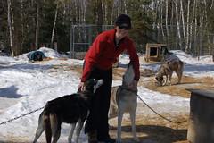 (Jenny Peters) Tags: winter vacation snow dogs minnesota fun cabin mush snowy getaway rental roadtrip adventure ely mushing sled dogsledding excursion mushers huskie springy longweekend chillydogsdogsledtrips