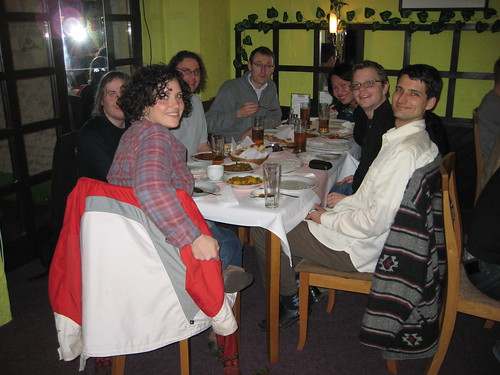 Dinner at Tandoor