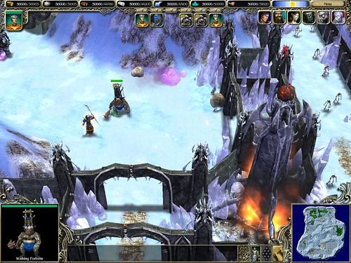 Harbiner and Siege Workshop assaulting a Black Tower