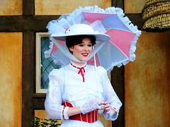 Mary Poppins (disneylori) Tags: england epcot unitedkingdom disney disneyworld characters wdw marypoppins waltdisneyworld worldshowcase disneycharacters canonpowershota610 facecharacters meetandgreetcharacters marypoppinscharacters