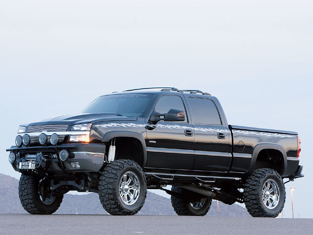 2003 4x4 chevy silverado 2500hd
