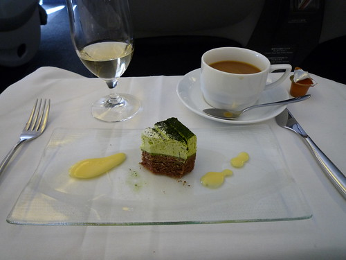 in-flight meal (JAL) - dessert