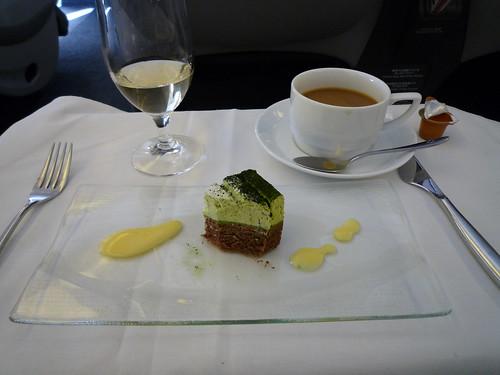 in-flight meal (JAL) - dessert