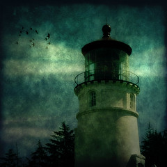 * Midnight Lighthouse *