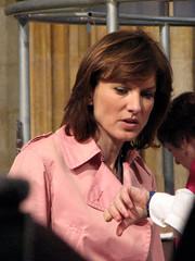 Fiona Bruce (Caro Wallis) Tags: pink television