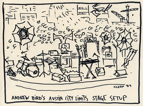 Andrew Bird Austin City Limits Taping
