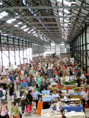 top view of eveleigh markets