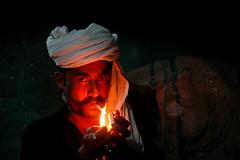 Elegance (Mobeen_Ansari (in Seattle, LA, TX and DC July-Augu) Tags: portrait fire nikon d70 nikond70 cigarette illuminated portraiture pakistani tariq punjabi islamabad sargodha markaz nanbai naanbai