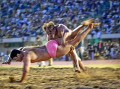 Rustam-e-Pakistan (Fiaz Tariq) Tags: pink wrestling injury desi winner lahore rustem punjabstadium specators pehlwan desikushti desiwrestling rustamepunjab bashirbhoolabhala hamidpehlwan konckedout