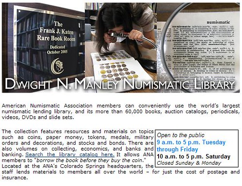 ANA Library Web page