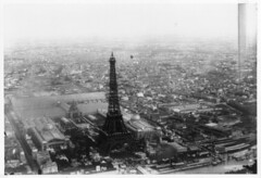 Eiffel Tower at the Exposition Universelle