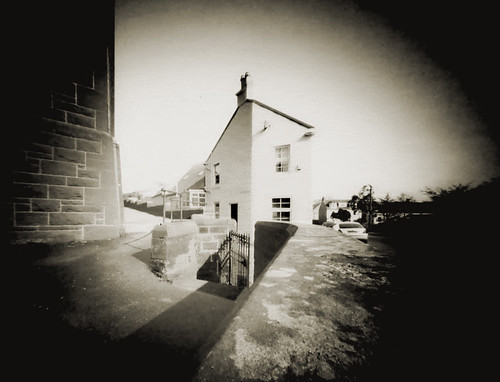 Corner cottage pinhole ortho lith film26Mar09