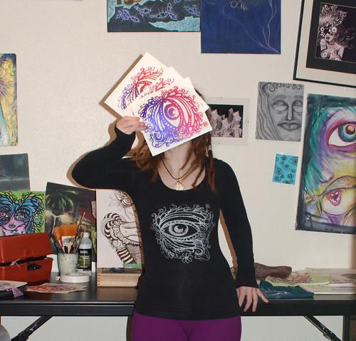 Behold silkscreen prints