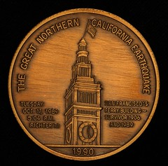 199 Earthquake Medal obverse