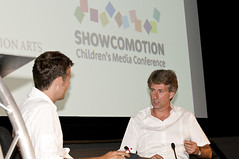 Showco 09 Keynote - Richard Bacon & Peter Salmon (The Children's Media Conference) Tags: greatbritain gbr showco petersalmon showcomotion2009