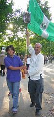 United For Iran Paris Rally July 25 (jeanrem) Tags: paris france hope democracy support peace iran rally eiffeltower protest anger solidarity toureiffel 75007 iranian dictator vote elections humanrights champsdemars manif manifestation neda trocadro theran murdelapaix droitsdelhomme iranelection banderole july25 mobilisation rassemblement dmocratie islamicrepublicofiran humainsassociesorg leshumainsassocis gr88 greenscroll leshumains whereismyvote iranrallies united4iran parcheminvert globaldayforiran journemondialedactionpourliran ptitiongant largestpetition