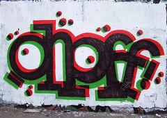 onoff (lepublicnme) Tags: streetart paris france graffiti belleville july explore 2009 woostercollective ekosystem