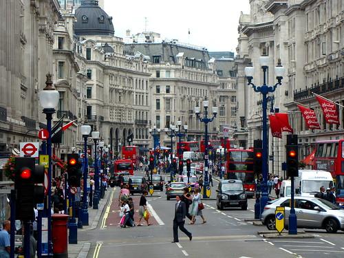 Regent Street by toastbrot81.