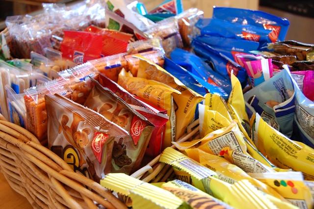 snacks replinished