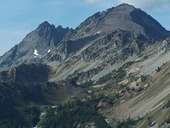 Seven Fingered Jack and Mt Maude