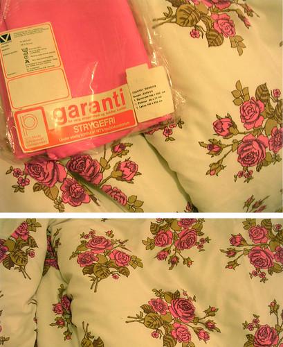 nytt sengesett.