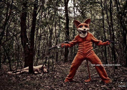 Fur Free - Angry fox, 1