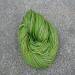 Yarn Pirate - Olive on aran wt BFL
