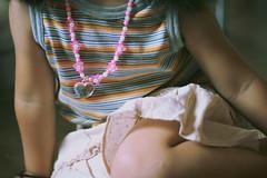 sabi-43 (SABITERU) Tags: summer up japan kids children eos japanese necklace kid pattern child skirt dressing  animation  osaka  striped    womanly