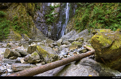 Goldstream Park: Niagara Falls (series) EXPLORED (Brandon Godfrey) Tags: pictures canada photo waterfall moss highlands amazing fantastic rocks stream bc photos shots pics britishcolumbia sony niagrafalls picture images victoria creativecommons pacificnorthwest northamerica ferns alpha dslr hdr highdynamicrange outstanding malahat a300 photomatix tonemapped tonemapping goldstreamprovincialpark dslra300 sonya300