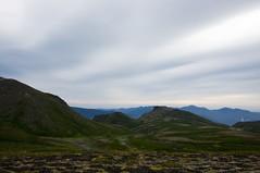 黒岳石室からの道のり