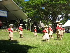 Little hula dancers