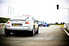 Nissan 350Z et Subaru Impreza STI