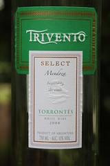 Trivento Torrontes White Wine 2008