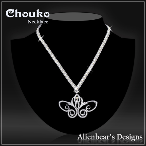 chouko necklace white