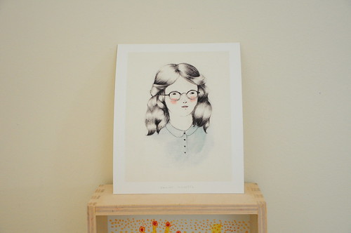 Girls Who Wear Glasses Print