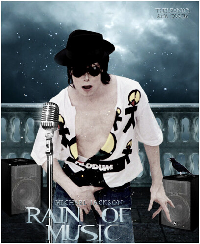 Rain Of Music - Michael Jackson by TheLean.