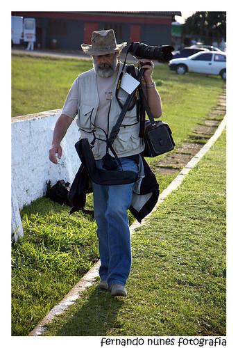 Paulo Nunes em ação...