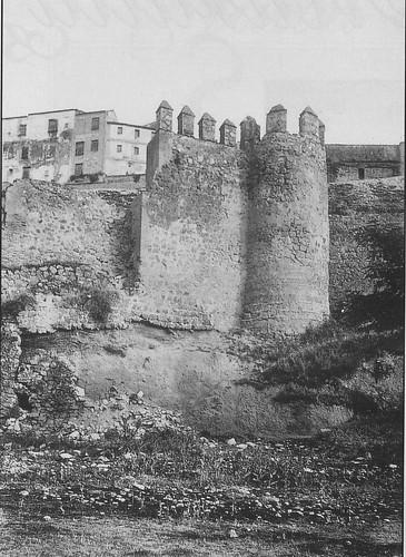 Murallas de Toledo a inicios del siglo XX
