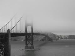 Golden Gate Bridge San Francisco Black and White (jacob morgan) Tags: pictures desktop bridge wallpaper white black landscape golden gate san francisco screensaver postcard picture imagery
