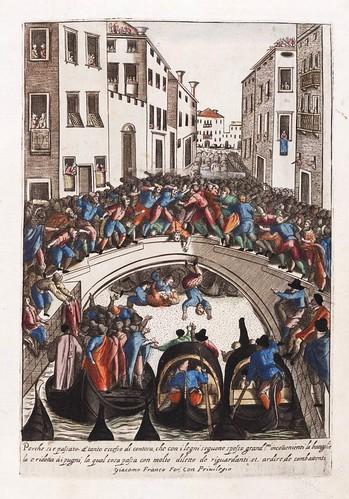 025-Fiesta popular para ocupar los puentes de Venecia-Habiti d'hvomeni et donne venetiane 1609